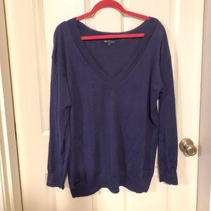 Gap cashmere v neck size L